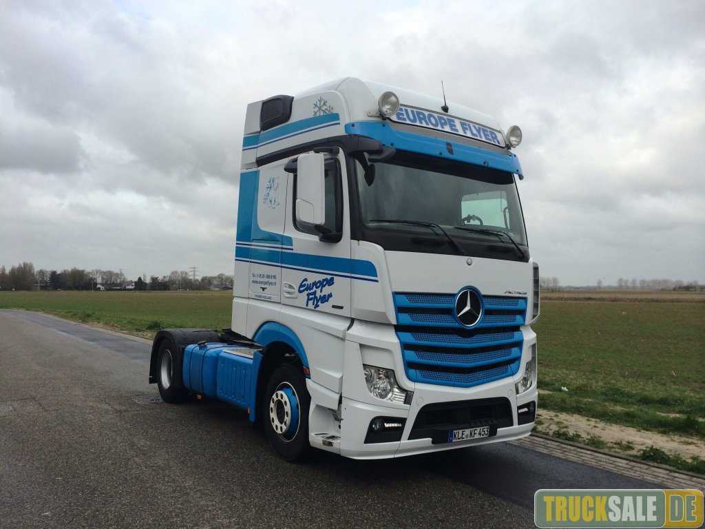 Tractor unit mercedes benz actros 1842 giga space for sale for Mercedes benz astros