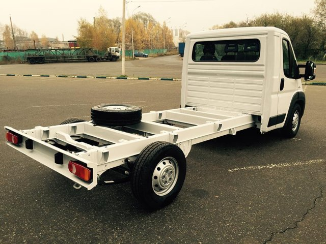 шасси Fiat Ducato MAXI Chassis LWB 3.5t