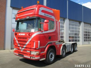 Scania R 144.530 8x4 with WSK 150 TON