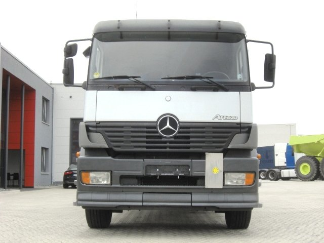 автокран Mercedes-Benz Atego 1828 4X2 / Glastransport /Ladekran PK