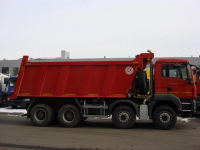 самосвал MAN TGS 41 400 8x4 BB-WW Бецема 20м