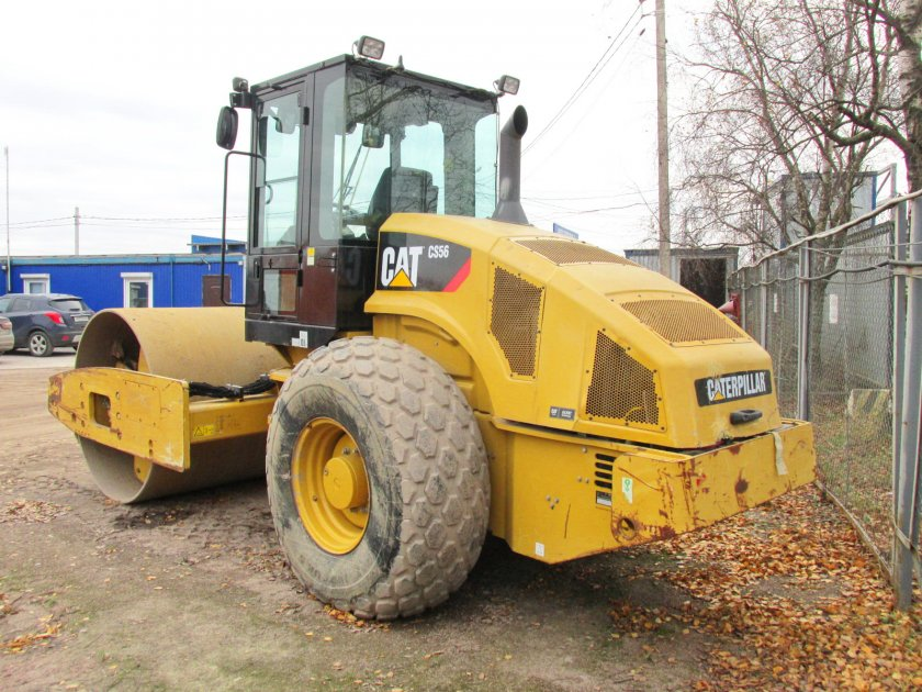 катки Caterpillar CS56