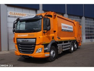 DAF FAN CF 340 AE weegsysteem
