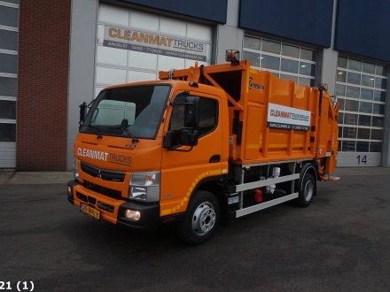 Andere LKW  Canter 9C18 Geesink 7m3