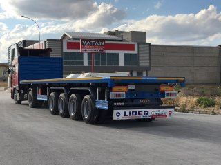 Lider Trailer  40' 20' 30' container transport trailer