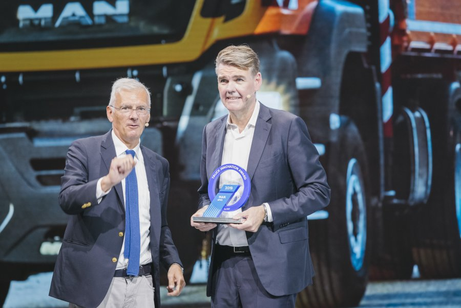MAN Truck & Bus стал призером  Truck Innovation Award за проект aFAS
