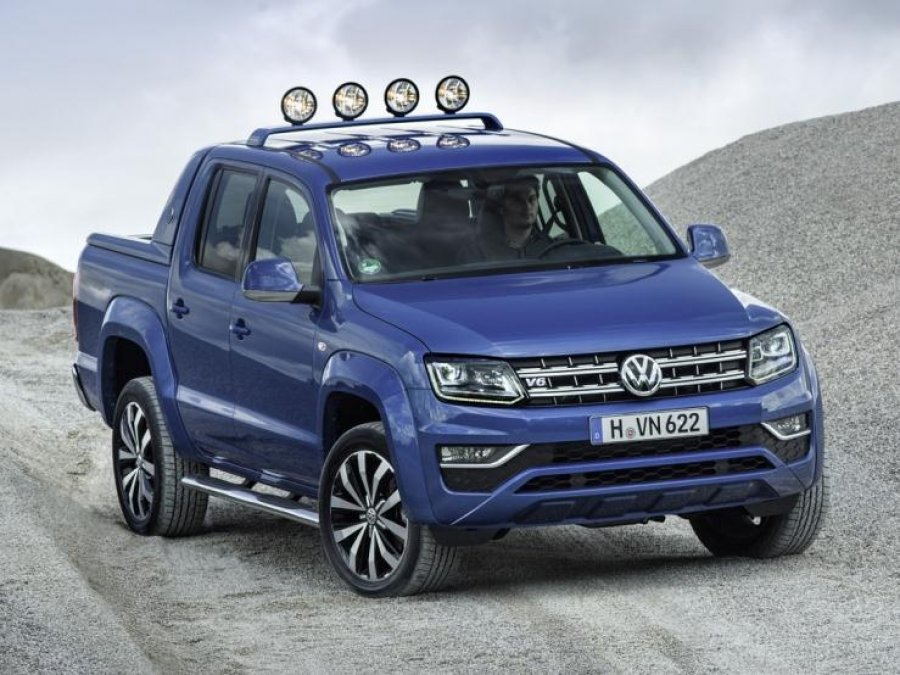 Volkswagen представит пикап Amarok Canyon Edition
